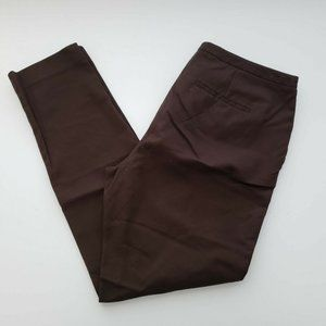 Vince Camuto Tapered Brown Pants 6